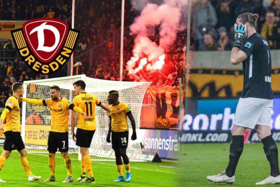 Pyro, Böllerwurf, Strafanzeige: Dynamo droht Hammer-Strafe
