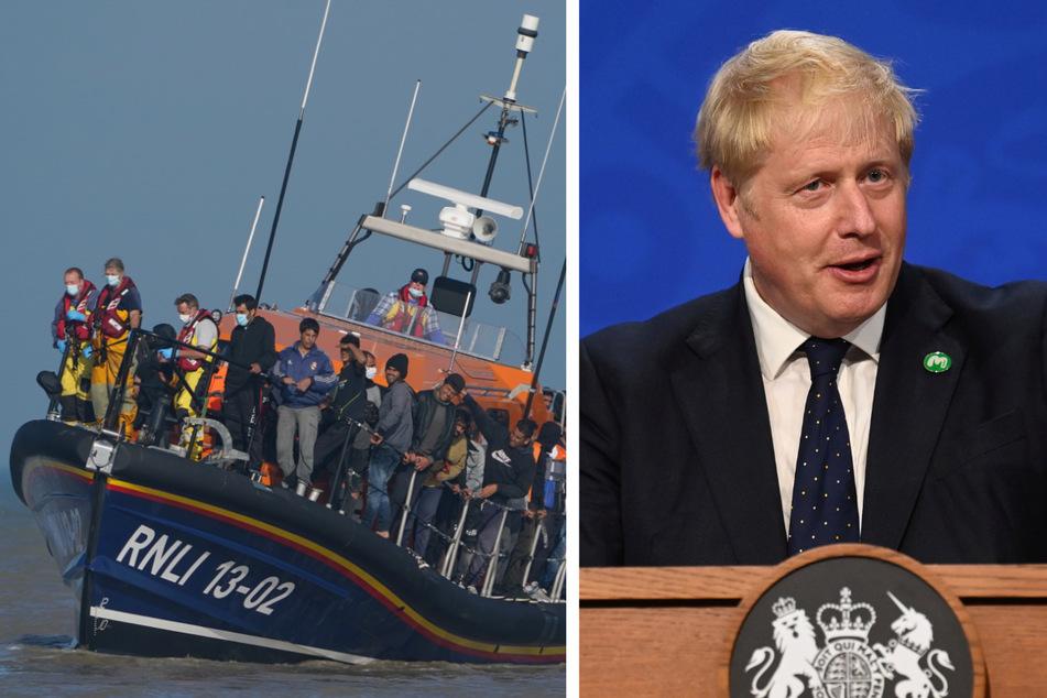 """Johnson über illegale Einwanderung: """"Wir sind davon abhängig, was die Franzosen machen"""""""