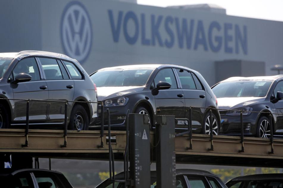 Ab Montag ruht in Zwickau die Produktion von Golf und Passat.