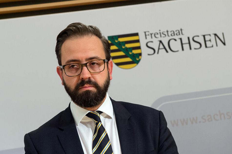 Justizminister Sebastian Gemkow (40, CDU) spricht von einer notwendigen Reaktion. Den Grünen dagegen geht vieles zu weit.