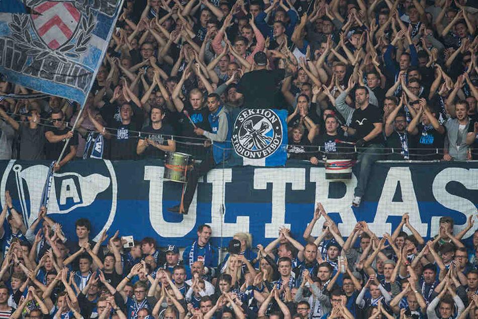 Die Fans von Arminia Bielefeld geben dem Trainer die Schuld an der jetzigen Situation.
