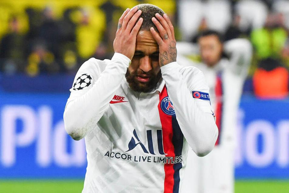 Neymar erwischte einen gebrauchten Tag und prallte oft an Emre Can ab - schoss aber das extrem wichtige Auswärtstor für PSG.