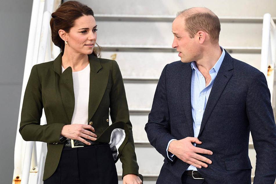 Kate und William lernten sich während des Studiums kennen.