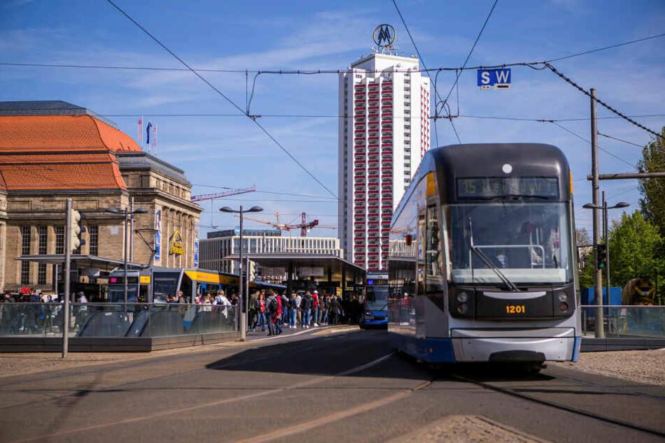 Wegen der extremen Hitze kommt es auf den Linien der Leipziger Verkehrsbetriebe (LVB) am Mittwoch zum Ausfall einzelner Teilstücke.