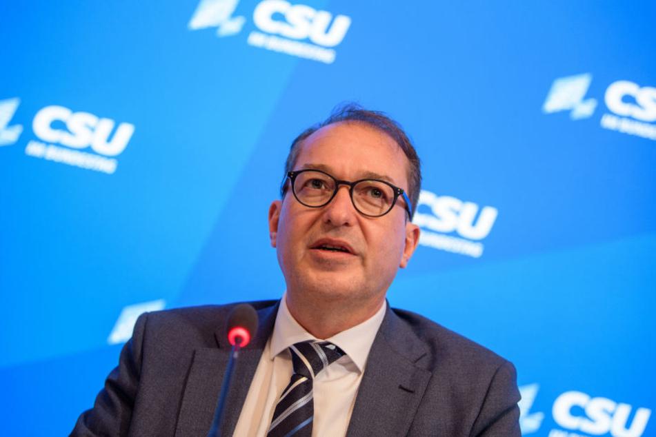 Alexander Dobrindt hält eine Debatte über die Kanzlerkandidatur für verfrüht.