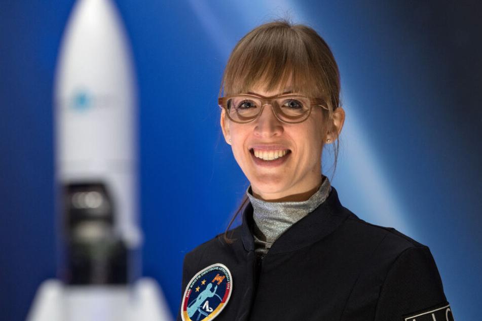 Insa Thiele-Eich soll 2020 möglicherweise als erste Astronautin ins Weltall fliegen.