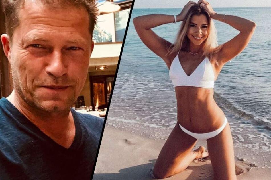 Auf Mallorca geht es zwischen dem Schauspieler und der Ex-Bachelor-Kandidatin heiß her.