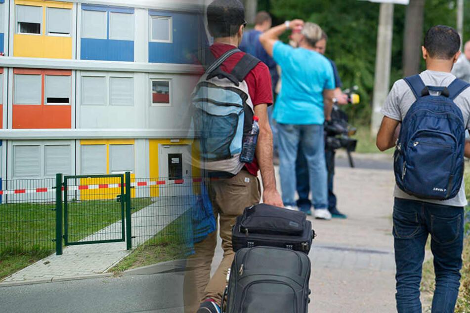 Findet das Land Berlin keine neuen Unterkünfte, landen 900 Flüchtlinge auf der Straße. (Bildmontage)