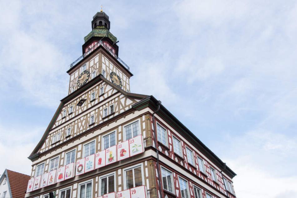 Das Rathaus in Kirchheim unter Teck.