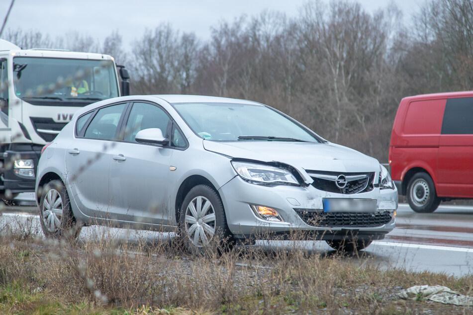 Chemnitz: Auffahrunfall auf A72:Polizei warnt vor Stau