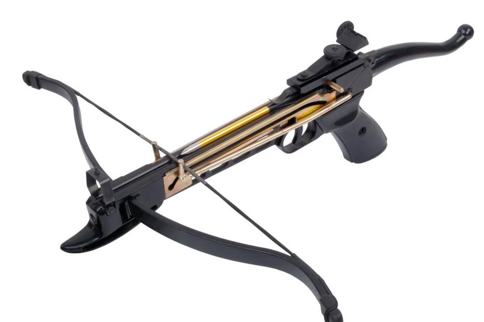 Mit einer solchen Armbrustpistole wurde offenbar auf die Taube geschossen (Symbolbild).
