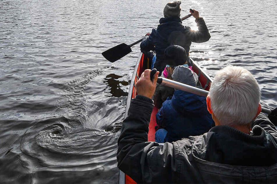 Ein Kanu ist auf der Saale ins Schwanken geraten und gekentert. Die Insassen konnte sich retten. (Symbolbild)