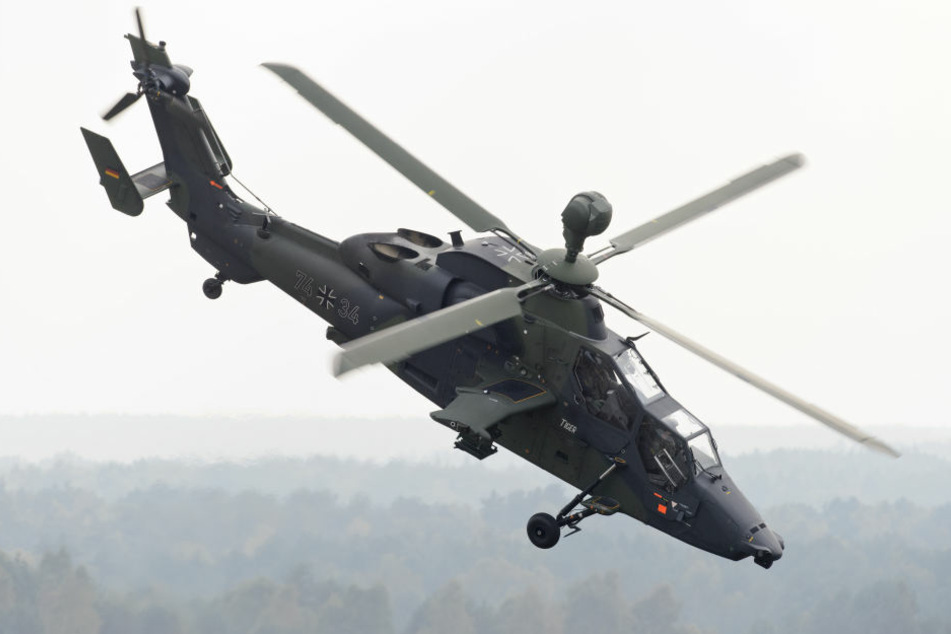 """Ein Kampfhubschrauber vom Typ """"Tiger"""" ist im Norden von Mali abgestürzt."""