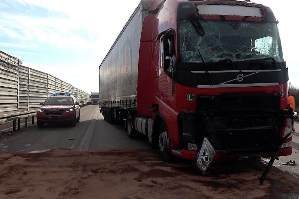 Auf der A2 ereignete sich am Dienstagmorgen ein schwerer Unfall.