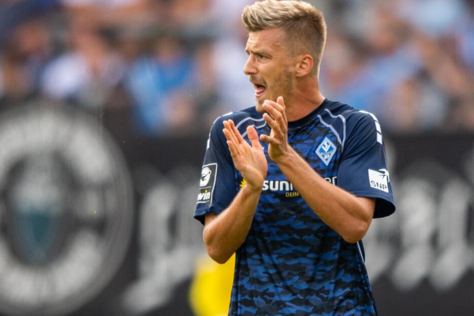 Maurice Deville spielt seit 2017 für Waldhof Mannheim, stieg mit dem Verein in der vergangenen Saison in die 3. Liga auf.