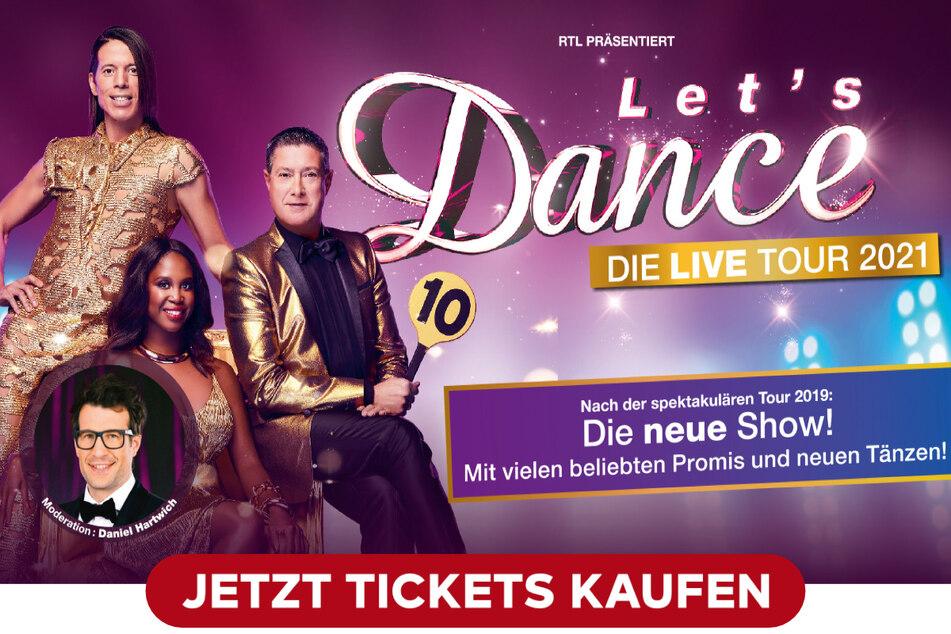Jetzt Tickets für die Liveshows sichern!