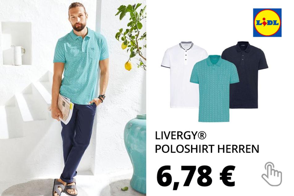 LIVERGY® Poloshirt Herren