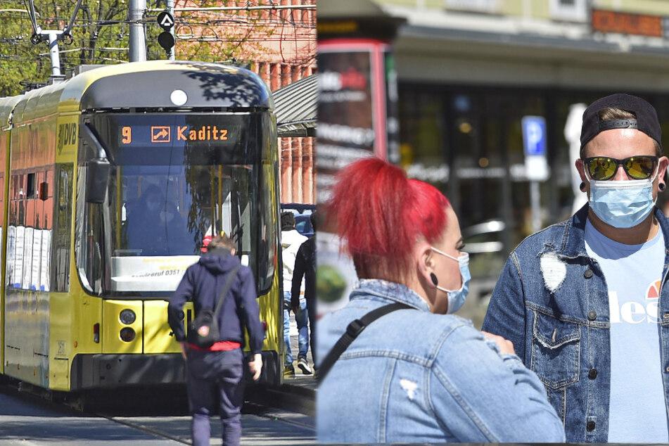 Maskenpflicht: Fahrgäste mit Mundschutz, aber nicht alle Bus- und Bahnfahrer