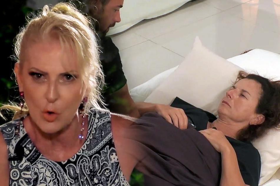Waren bei Promis unter Palmen keine Freundinnen: Désirée Nick (63) und Claudia Obert (58).