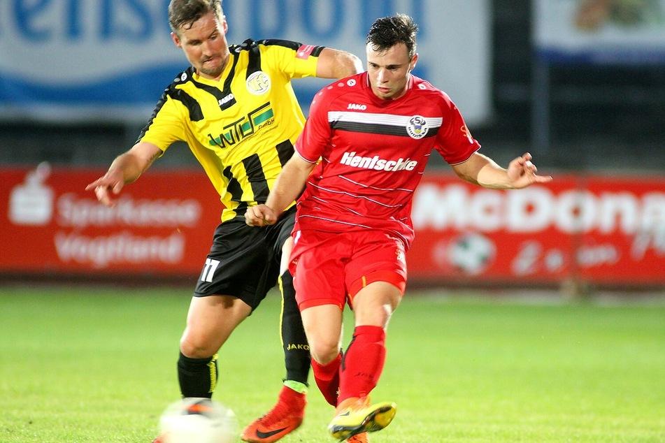 Marcel Bär (21, r.) wechselt zu Rot-Weiß Erfurt.