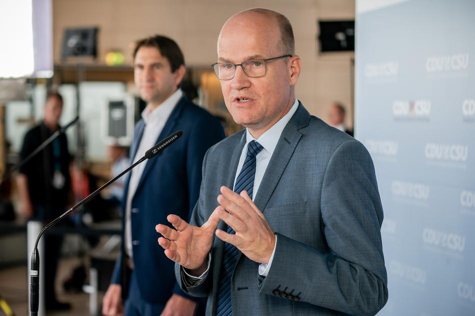 Ralph Brinkhaus (CDU), Vorsitzender der CDU/CSU-Bundestagsfraktion. (ältere Aufnahme)