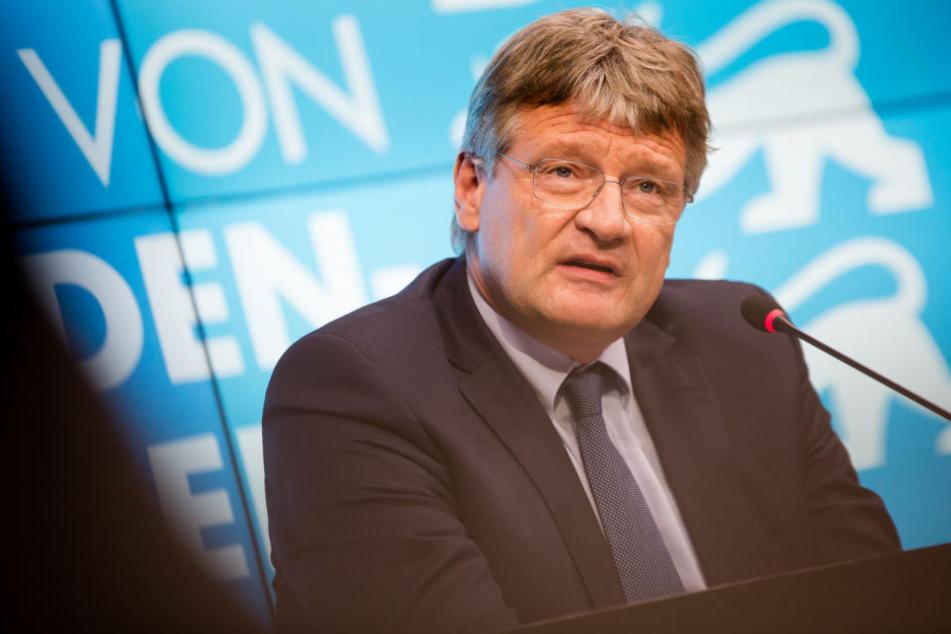 Zieht mit seinem Doppelmandat Ärger auf sich: Jörg Meuthen.