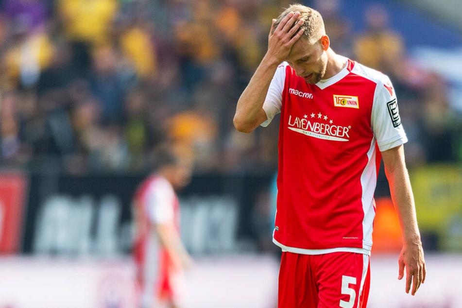 Der 1. FC Union Berlin verliert im Aufstiegsrennen immer mehr an Boden.