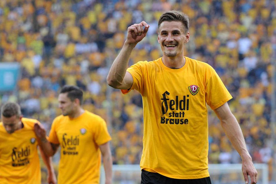 Stefan Kutschke war wohl einer der glücklichsten Menschen im Stadion.