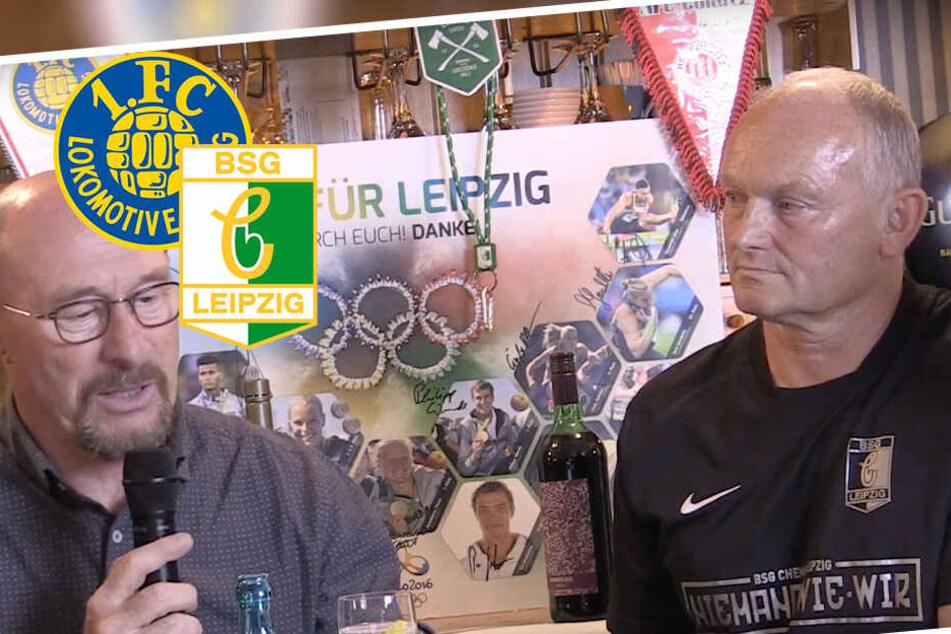 Derby zwischen Chemie und Lok Leipzig: Das sagen Frank Kühne und Wolfgang Wolf zum Boykott