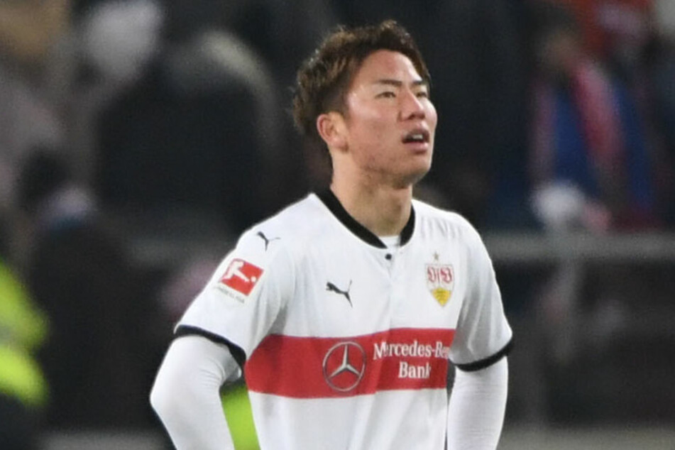 Takuma Asano ist nicht glücklich beim VfB. (Archivbild)