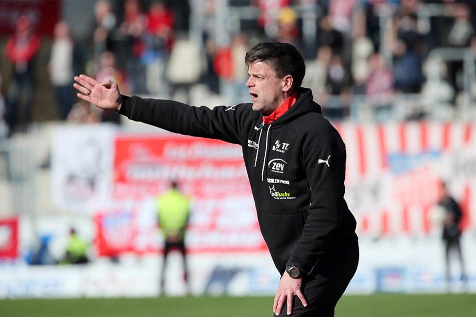 Zwickaus Coach Torsten Ziegner weiß um die Qualität seines Defensivspielers.