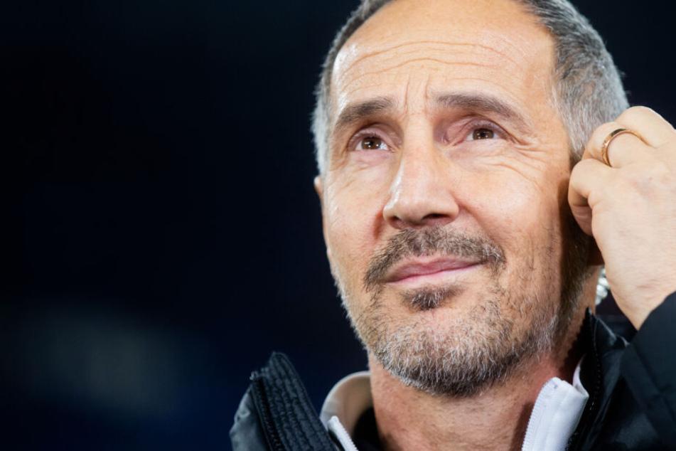 Das Foto aus dem Dezember 2019 zeigt Adi Hütter, den Trainer von Eintracht Frankfurt.