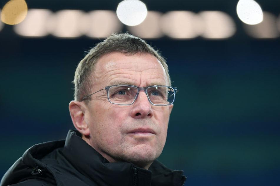 Ralf Rangnick (59) ist aktuell Sportdirektor bei RB Leipzig, soll aber als Wenger-Nachfolger bei Arsenal London im Gespräch sein.