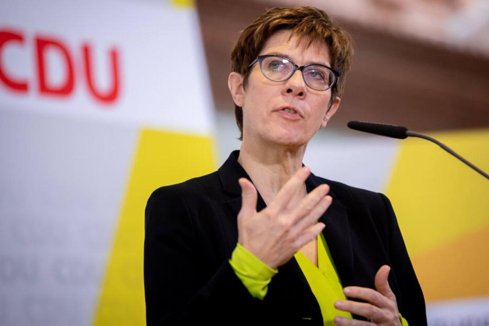"""""""Baden-Württemberg war immer eine CDU-Bastion"""": Annegret Kramp Karrenbauer."""