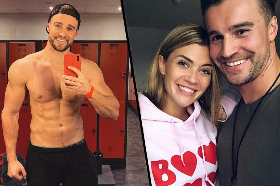 Vor wenigen Wochen zeigte sich das Bachelorette-Paar noch ganz verliebt, heute sieht man Alex wieder alleine im Fitnessstudio.