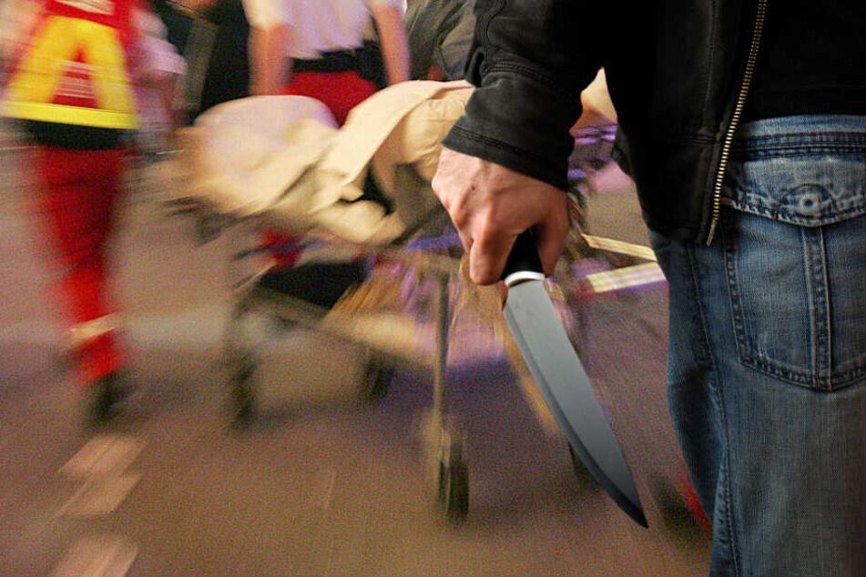 Eine Frau und zwei Jungen wurden bei dem Familiendrama verletzt (Symbolbild).