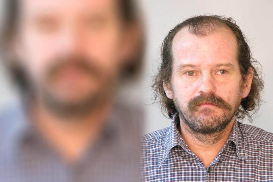 Peter S. (53) wird als ungepflegt beschrieben und hat auffällig gelbe Nikotinfinger. Er wird seit fast einem Jahr vermisst.