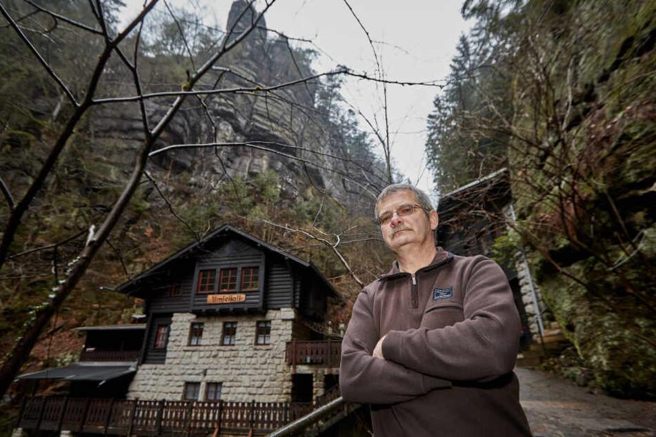 Schock für Wanderer: Amselfall-Baude muss dicht machen