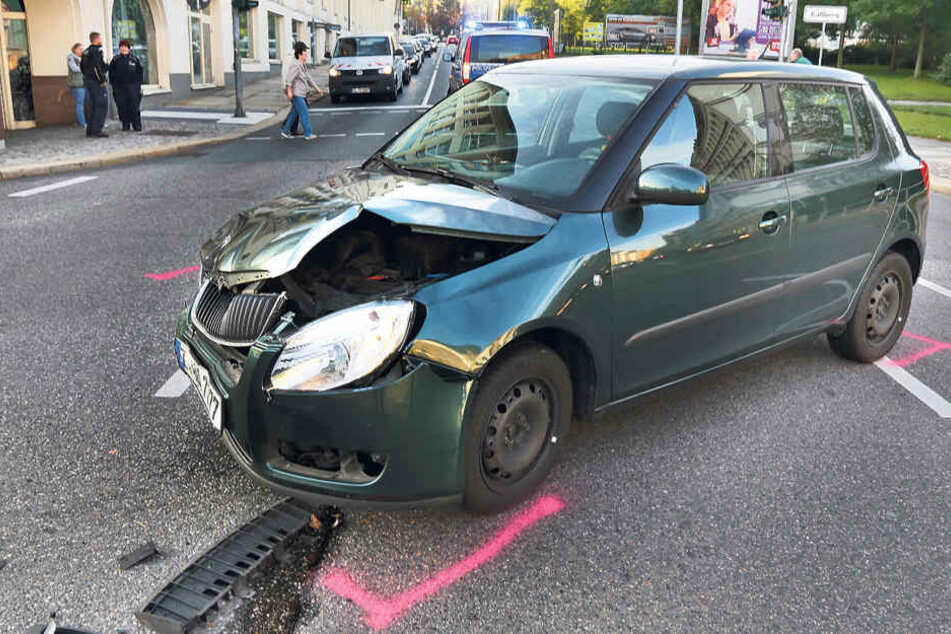 Durch Ampelausfall kam es wieder zu einem Unfall.