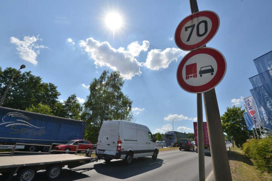 Die CDU sieht eine mögliche Geschwindigkeitsreduzierung von 70 auf 50 auf dem Südring kritisch.