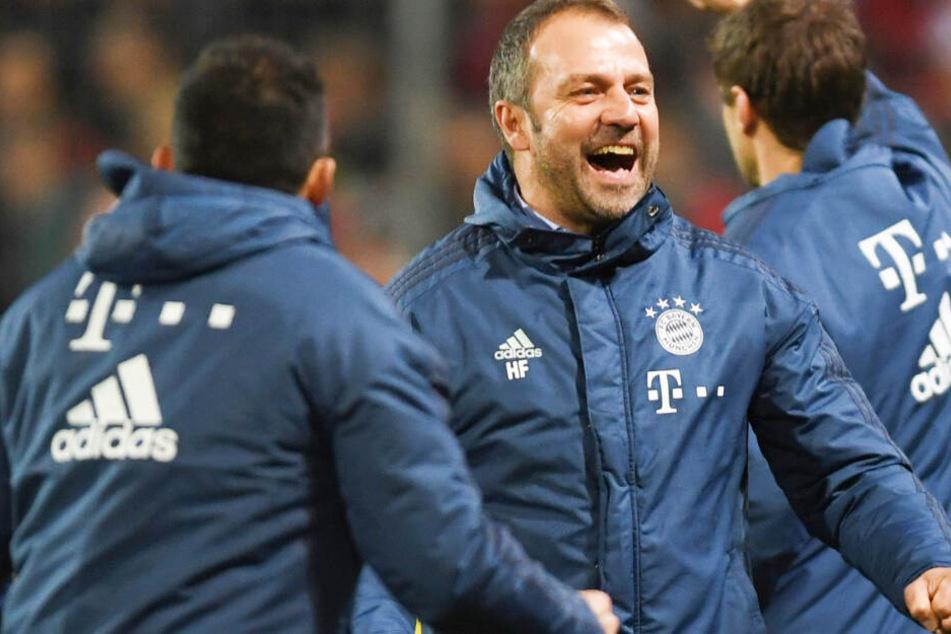 Bayern-Trainer Hansi Flick hat die Mannschaft wieder auf Kurs gebracht.