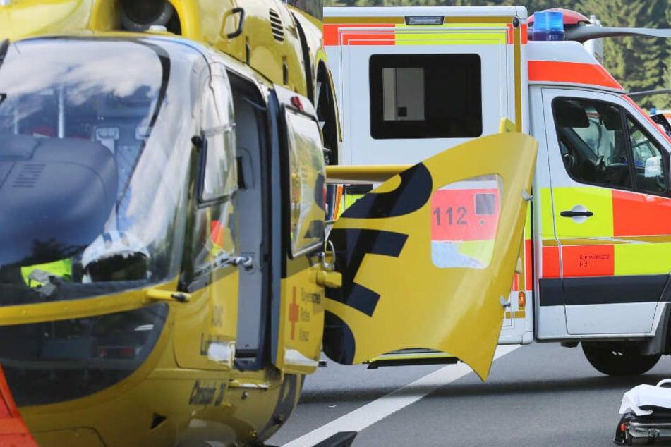 Die Rettungskräfte mussten das Mädchen ins Krankenhaus fliegen. (Symbolbild)