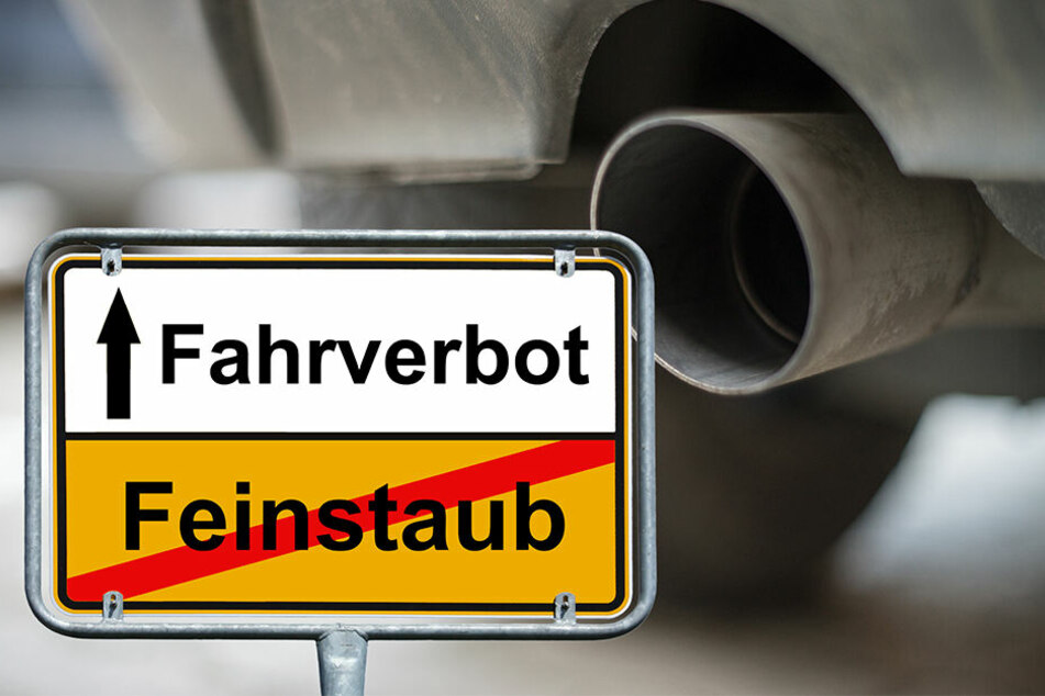 Tausenden Autofahrern drohen in Deutschland Fahrverbote, wenn sie Diesel tanken.