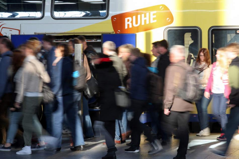 Die Metronom-Züge dienen vielen Pendlern als Ausweichverbindung für die gesperrte S-Bahn nach Harburg (Archivbild).