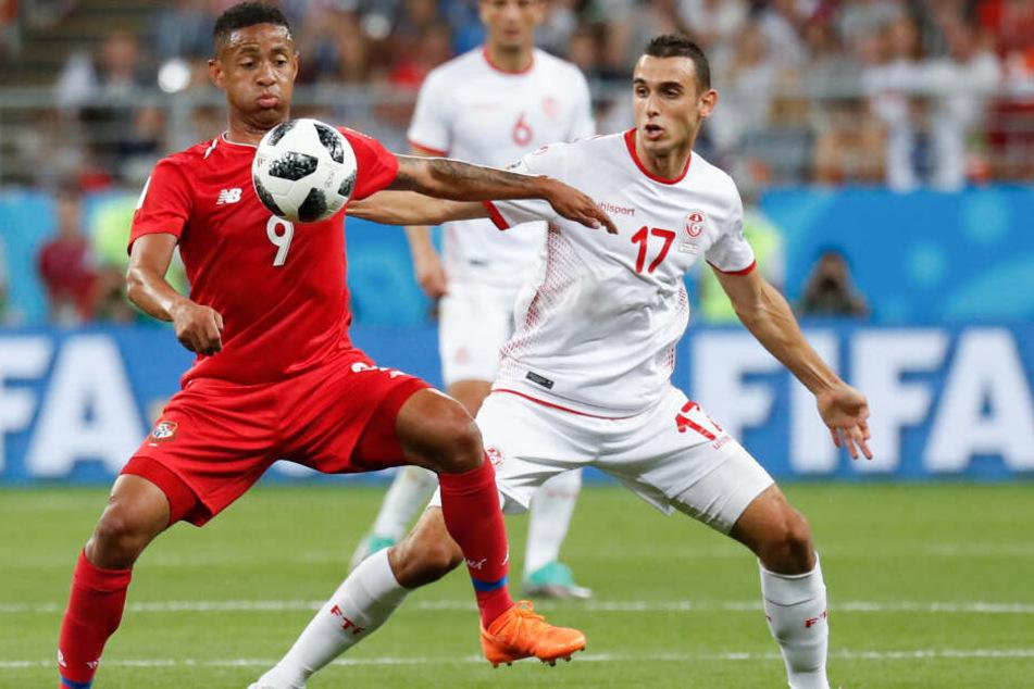 Der Tunesier (r.) erreichte mit seinem Team das Halbfinale im Afrika-Cup. Kommt Ellyes Skhiri jetzt zum 1. FC Köln?