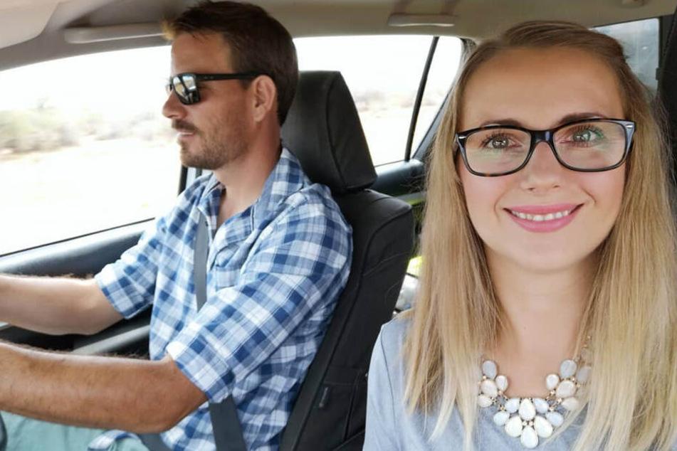 Mit Gerald hat Anna in Namibia ein neues Leben begonnen.