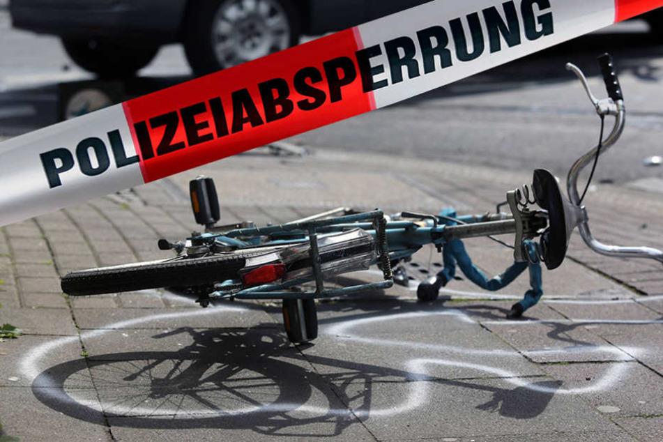 Innerhalb eines Tages starben in Sachsen gleich zwei Radfahrer. (Symbolbild)
