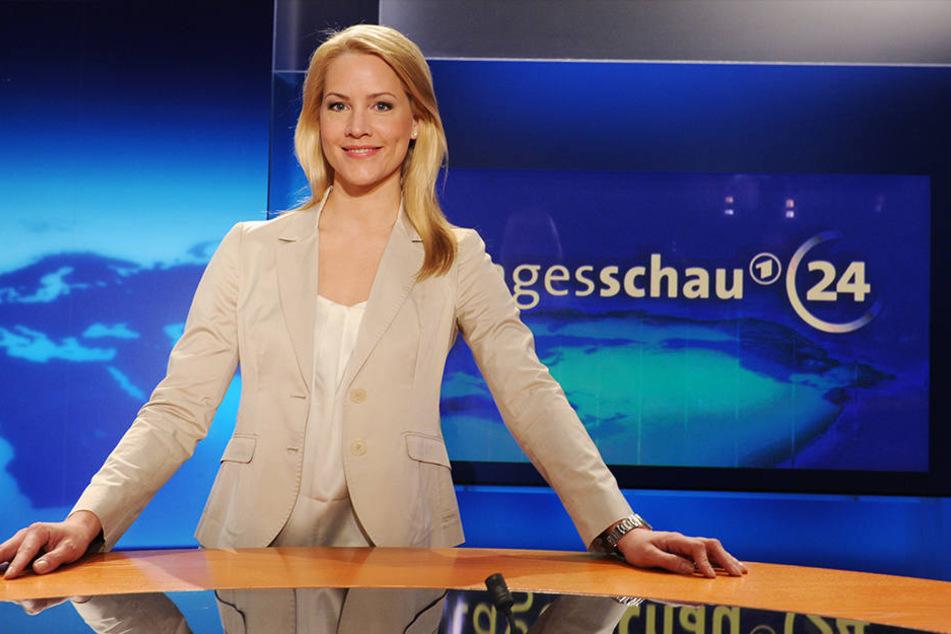 Tagesschau-Sprecherin Judith Rakers ging am Montag verspätet auf Sendung.
