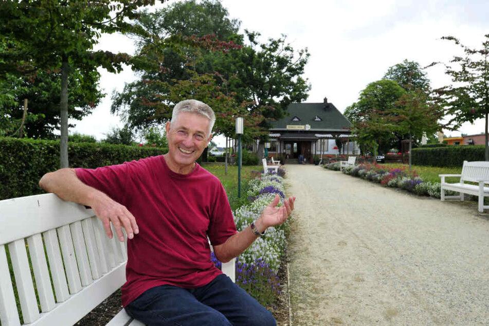 """Peter Goller (70) ist Vereins-Chef in der Sparte """"Sonnige Höhe""""."""