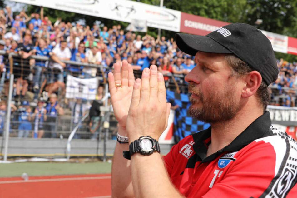 Steffen Baumgart möchte auch in dieser Saison wieder häufig jubeln.